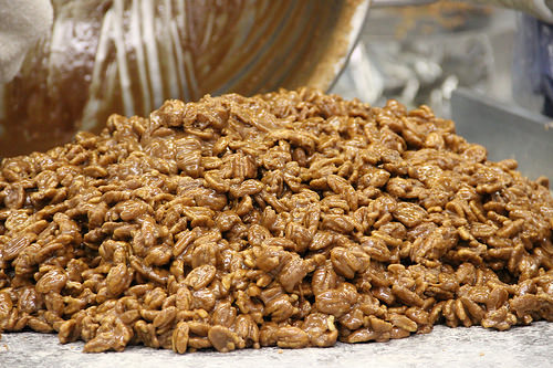 Pecans for industrial markets