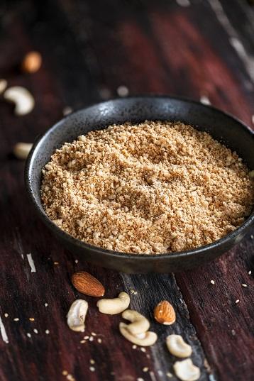 Flour made from bulk pecans